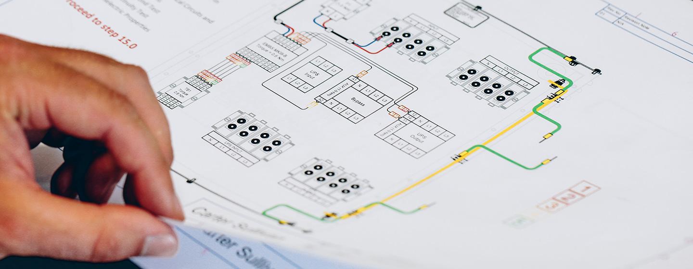 ups blueprints for a server room