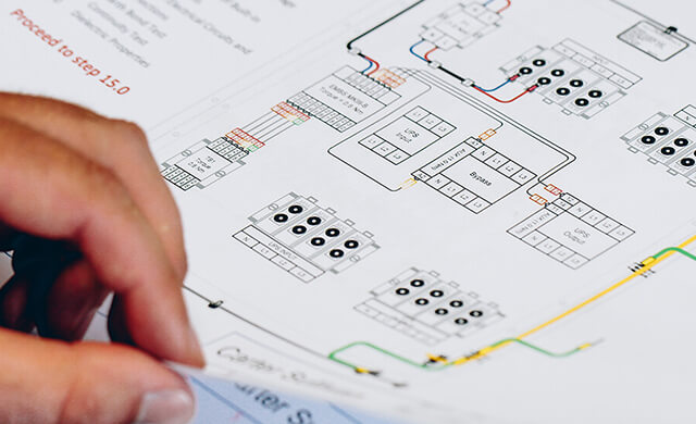 server room design diagram